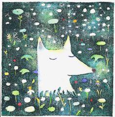 Fox Dream by Kristina14 on Etsy, $30.00