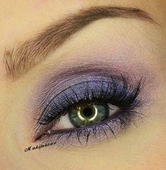 Smokey Eye Purple on Makeup Geek