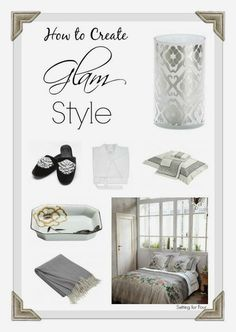 Classic decor ideas with a touch of glam!