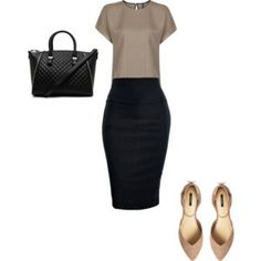 Casual job interview outfit