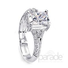 from Parade DesignLines of diamonds intersected by graceful mill grain design.
