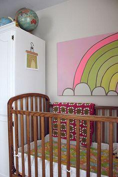 G and L's rainbow room cute rainbow painting...
