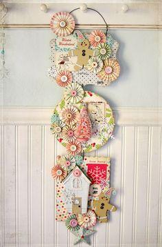 Christmas hanging craft