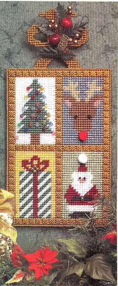 Welcome Christmas Plastic Canvas Pattern by needlecraftsupershop, $3.99