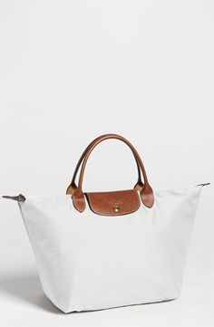 Longchamp 'Le Pliage' Tote  #10  I think these bags look classic, but they also collapse down flat for easy storage or packing.