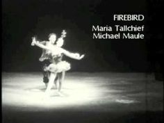 Maria Tallchief in Balanchine's Firebird