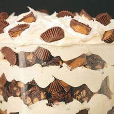 peanuts, trifles, food, browni trifl, fun recip