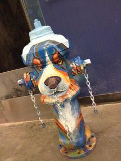 Dawg Fire Hydrant