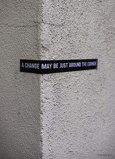 Change. #Quotes