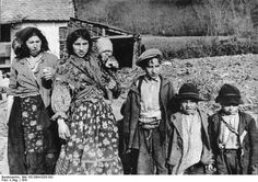Croatian Gypsies in Zagreb. 1941