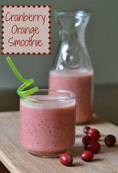 Cranberry Orange Smoothie
