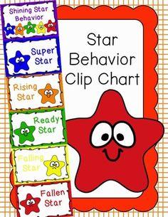 Behavior Clip Chart - Behavior Management - STARS 2
