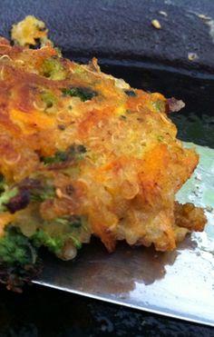 Quinoa-deller med grønsager