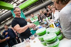 Chef Robert Irvine at the Plastics Make it Possible Booth.