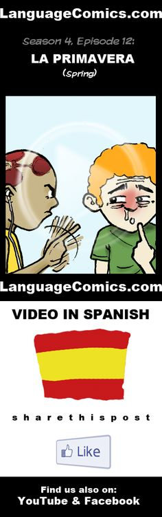 Practice your pronunciation and learn #Spanish with this episode and many more. Enjoy and share!  http://www.youtube.com/watch?v=NBMpvEcy2oI  ---------------------------------------------  Also find us on http://www.Facebook.com/LanguageComics and http://www.YouTube.com/LanguageComicsTeam