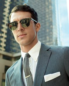 GQ Shops: The Ray-Ban Clubmaster: Wear It Now: GQ