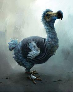 A dodo by Tim Burton