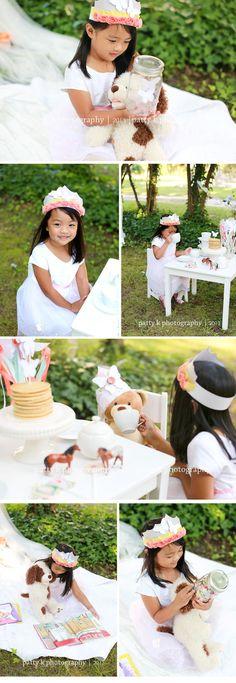 Enchanted Tea Party Minis | Imagination Session | Madeline | Raeford, NC Child Photographer | Patty K Photography