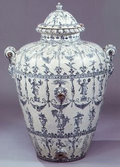 Wine Jar    Italy, 1610-1620    The Metropolitan Museum of Art