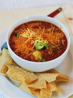 Slow Cooker Tortilla Soup!