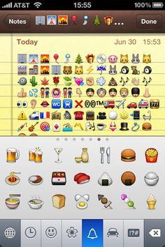 Emoji on iPhone 2