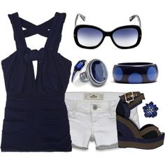 Navy Blue, created by missyfer88 on Polyvore