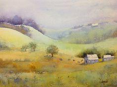 acuarela lll, daili paintwork, judi mudd, watercolor paint, beauti watercolor
