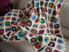 My vintage blanket: the edging