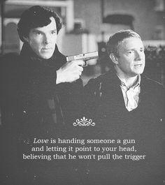 Sherlock and Dr. Watson. Sherlock (BBC).