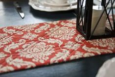 Simple Autumn Table Runner tutorial by Vanessa Goertzen from Lella Boutique