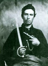 """John Wilson Vermillion would grow up to become one of the many gunfighters in the Old West, with colorful nicknames like """"Texas Jack"""" and """"Shoot-Your-Eye-Out"""" Vermillion. He is most well known for his participation with Wyatt Earp in the Earp Vendetta Ride after the Clantons had killed Morgan Earp in 1882."""