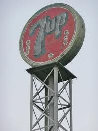 7up Sign Bakersfield, Ca