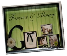 Anniversary Shadow Box
