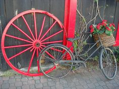 the Red wagon wheel