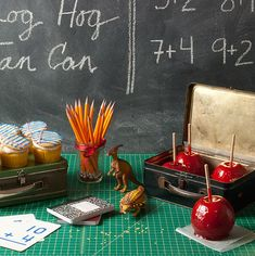 Cute back to school themed party (@Ronita Glanville Glanville Anderson Lussier, hint hint, nudge nudge, GRADUATION)