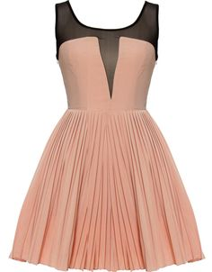Oh this is so 50s :} With a sexy sheer front and backside of the top part :}}