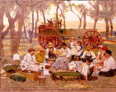 Prairie Grove Sunday Picnic - John Philip Falter