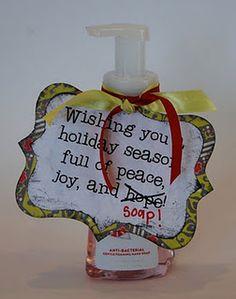 Soap gift -- cute