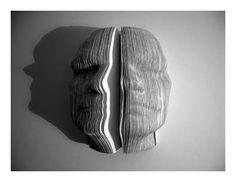 curiopt: Book Faces :: Nicholas Galanin