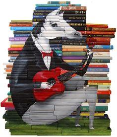 à faire avec des vieux livres ?