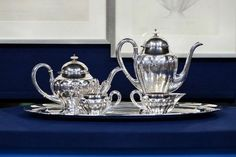 """1920 Kalo silver service that appraised for $30,000-$50,000 at auction while """"Antiques Roadshow"""" was in #Birmingham. See the Top 10 finds at http://www.al.com/entertainment/index.ssf/2014/06/cha-ching_top_10_finds_at_the.html"""