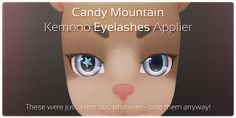 Kemono Applier Advert - Candy Eyelashes   Flickr - Photo Sharing!