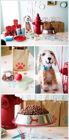 Dog Birthday Party Decor by eliza