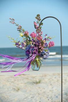 beach wedding by Dittekarina