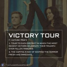 The Victory Tour makes it impossible to forget the Games. #CatchingFire