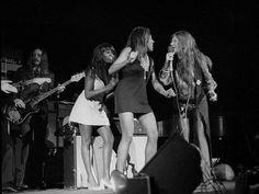 Tina Turner & Janis Joplin music, squares, janis joplin, tina turner, thing jani, gardens, jani joplin, squar garden, madison squar