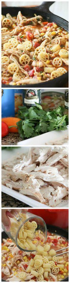 Southwest Chili Mac, great weeknight dinner idea!