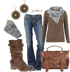 """""""Chunky n' Rustic"""" by cynthia335 on Polyvore"""
