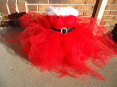 {Mrs. Claus Tutu Dress}