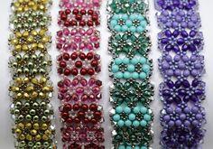 Deb Roberti's Garden Cuff Bracelet Pattern